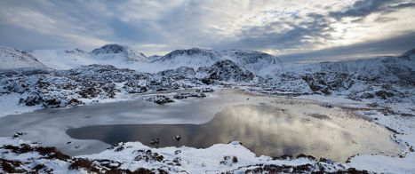 Great Gable from Innominate Tarn, Haystacks, Lake District