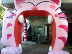 Entrance to the Cat Cafe - Tokyo