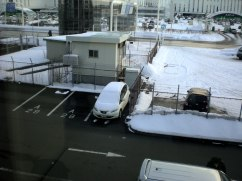 New Chitose airport (Sapporo). I had never seen so much snow before!