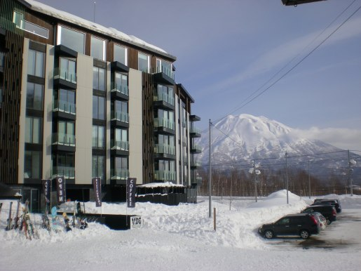 The Vale, with Mt Yotei in the background - Niseko