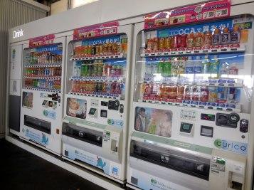 Vending machines everywhere - Kyoto