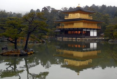 Kinkaku-ji (Temple of the Golden Pavillion) - Kyoto