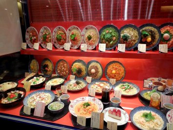 All food is presented in this manner. It made it much easier to select a meal! - Kyoto