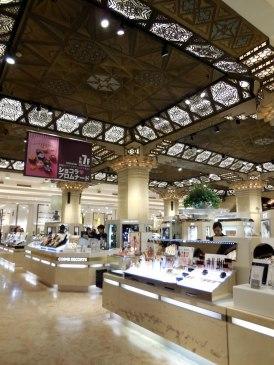 Inside Daimaru - Osaka