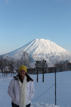 Mt Yotei (this was taken from the King Bell Hut)