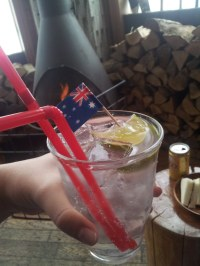 Australia Day drinks at Bigfoot Bar - Niseko