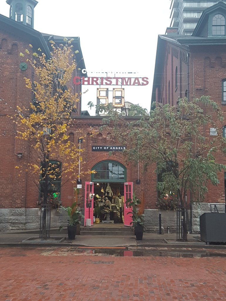 Distillery District, November 2017