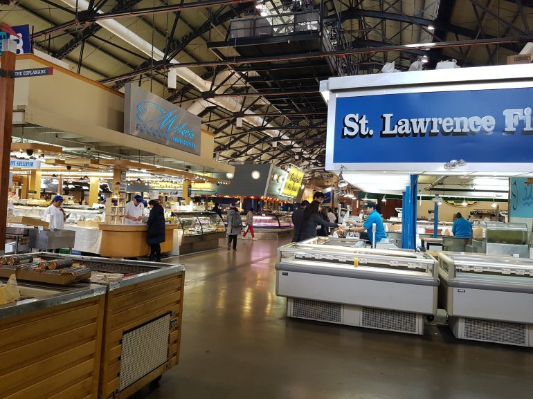 St Lawrence Market, November 2017