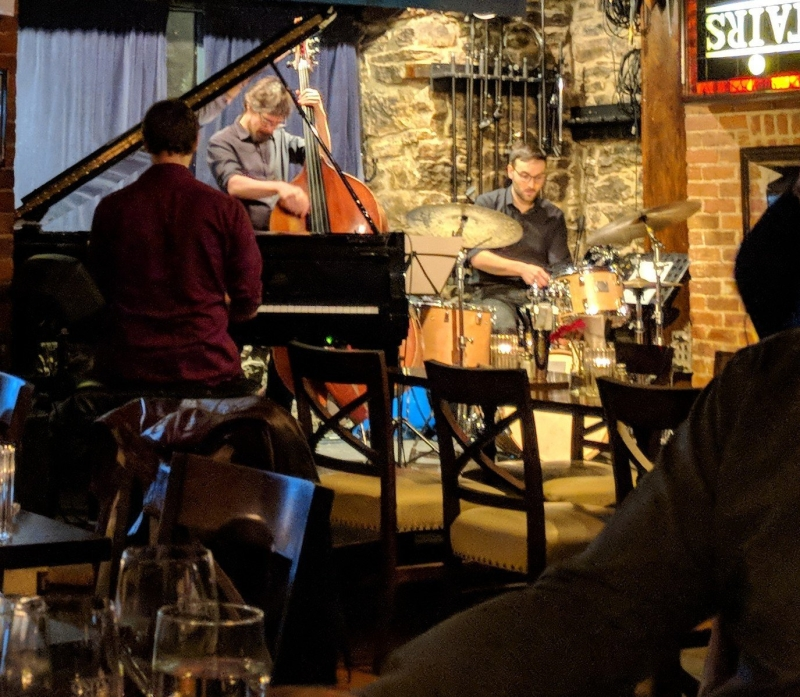 """Jazz in """"Upstairs"""" in Montreal"""