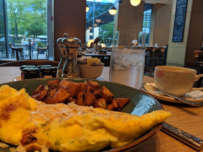 Breakfast at the Marriott was outstanding!