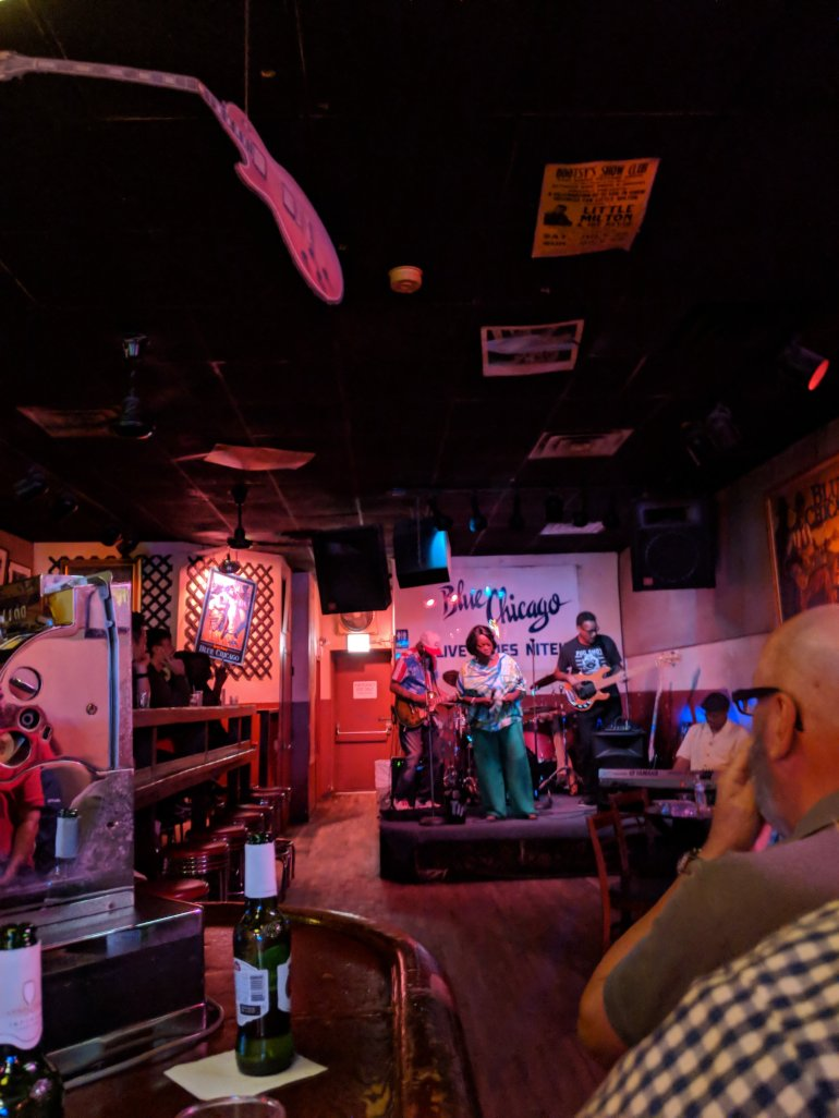 Blue Chicago - amazing Blues bar in Chicago!